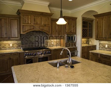 Modern high end kitchen