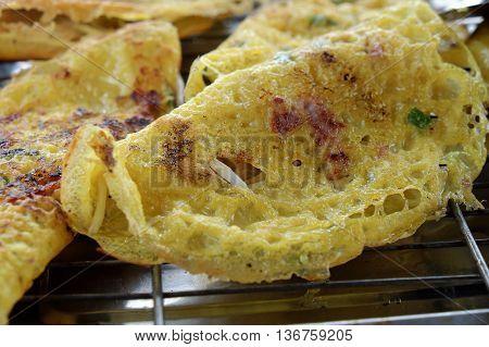 Vietnam Food, Banh Xeo, Vietnamese Pancake