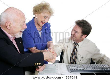 Tax Series - Group Handshake
