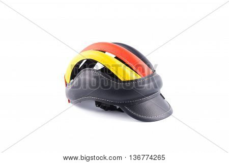 Helmets for bicycling Germany On a white background