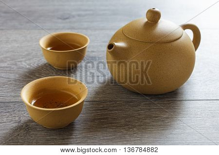 Tea Set Of Yixing Clay