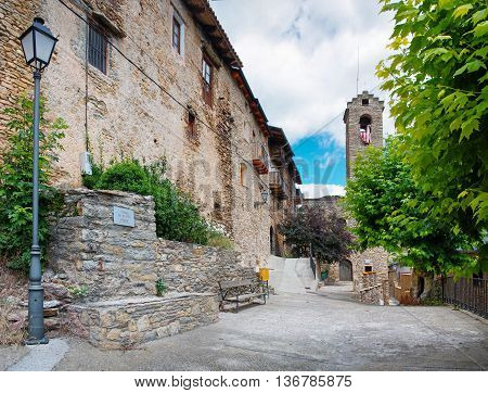 Estamariu in comarca of Alt Urgell Lleida Catalonia Spain.