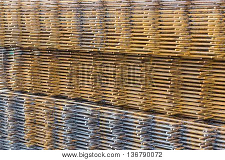 Steel Wire Mesh For Concrete Cement Construct