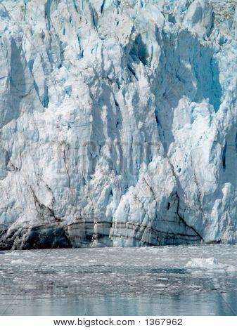 Cara del glaciar