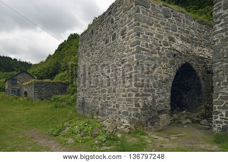 Old Lime Kiln at Mouth Mill near Clovelly Devon