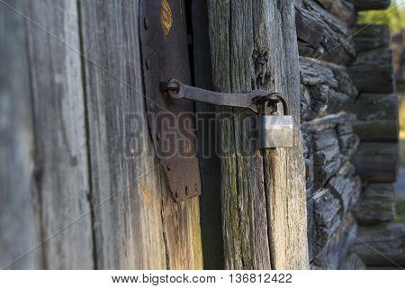 Old House. Door