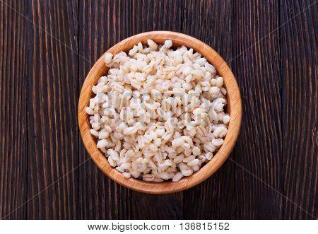 Boiled Barley Porridge