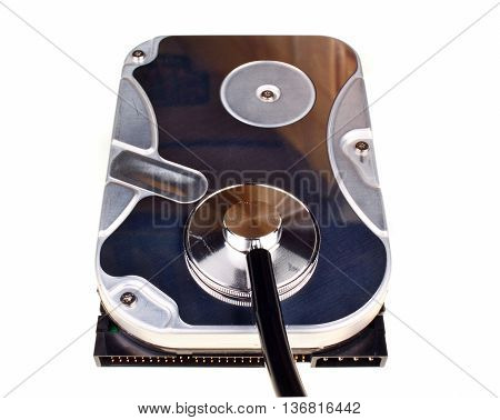 Hard Disk Isolated