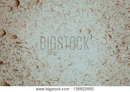 Porous tiles for outdoor use. Close up