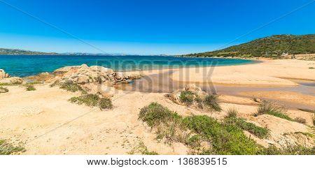 Ea Bianca beach in Costa Smeralda Sardinia