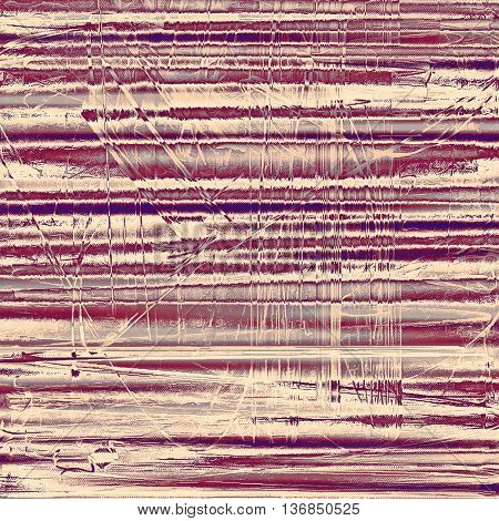 Cute colorful grunge texture or tinted vintage background with different color patterns: yellow (beige); brown; gray; purple (violet); pink