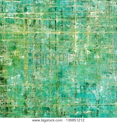 Vintage decorative texture with grunge design elements and different color patterns: yellow (beige); gray; blue; green; cyan; white