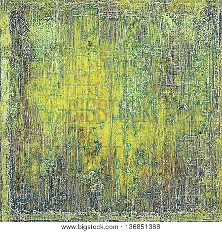 Art vintage texture, decorative grungy background. With different color patterns: yellow (beige); brown; gray; green; purple (violet)