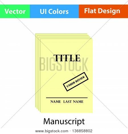 Manuscript Under Review Icon