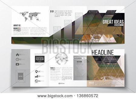 Colorful polygonal backdrop, blurred background, modern stylish triangle vector texture. Colorful polygonal backdrop, blurred natural background, modern stylish triangle vector texture.