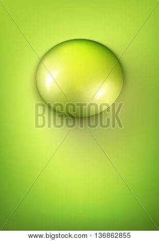 vector water drop illustration