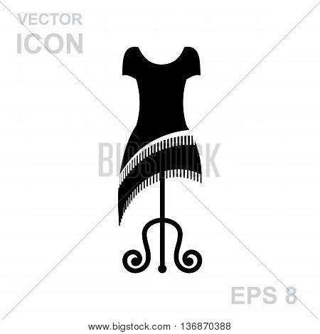 Dress On A Hanger