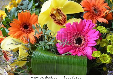Flowers. Colorful flowers, flowers background, flower bouquet, bunch of flowers