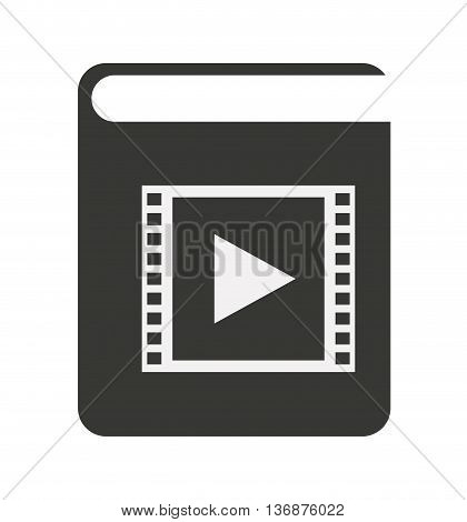 electronic book isolated icon design, vector illustration  graphic