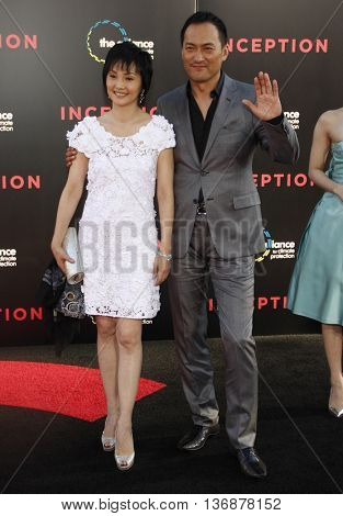 Ken Watanabe at the Los Angeles premiere of 'Inception' held at the Grauman's Chinese Theater in Los Angeles, USA on July 13, 2010.
