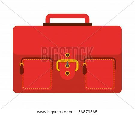 portfolio isolated icon design, vector illustration  graphic
