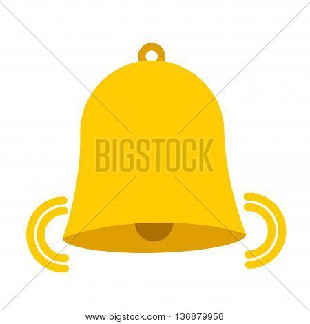 bell isolated icon design, vector illustration  graphic