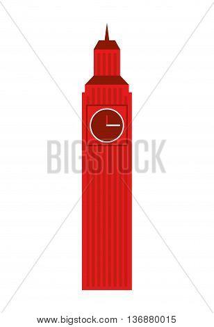 big ben london isolated icon design, vector illustration  graphic