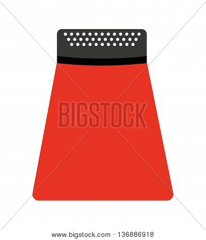kitchen utensil grater  isolated icon design, vector illustration  graphic