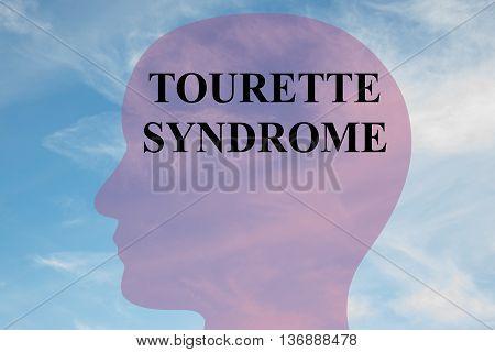Tourette Syndrome Mental Concept