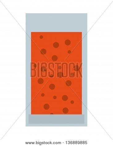 juice fruit bottle isolated icon design, vector illustration  graphic