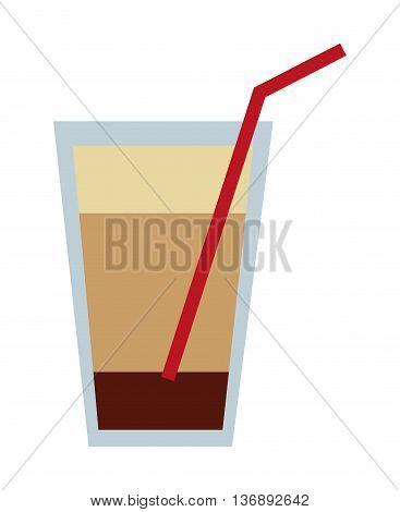 milk shake isolated icon design, vector illustration  graphic