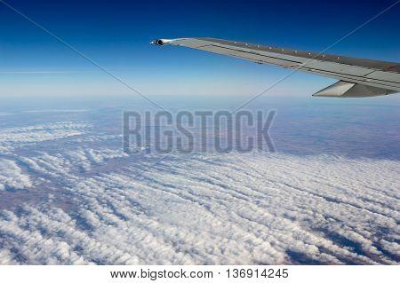 Photo of Von Karman vortex streets cloud formation