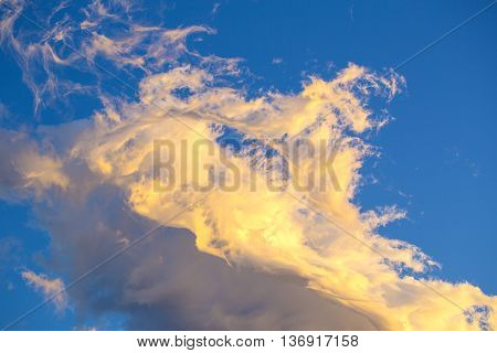 background sky with clouds stratosphere white wind
