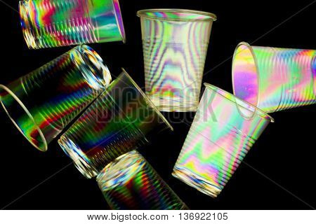 cross polarization ,polarized rainbow lights,abstract colorful light effects