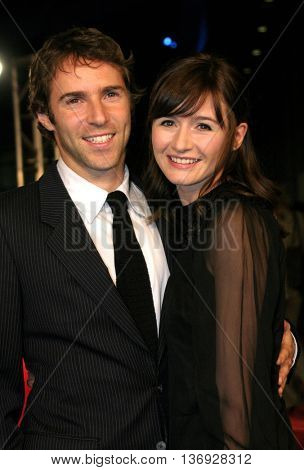 Alessandro Nivola and Emily Mortimer at the AFI Fest premiere of' 'Beyond the Sea' at the ArcLight Cinemas in Hollywood, USA on November 4, 2004.