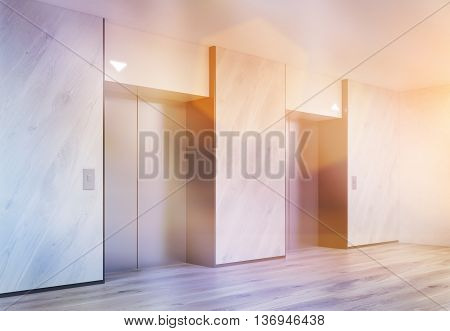 Toned Interior With Lifts