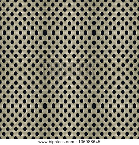 Digital photo manipulation technique dot motif seamless pattern background design in pale brown tones.
