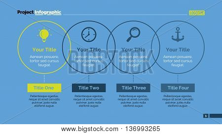 Process thin line diagram. Element of chart, presentation, diagram, project. Concept for infographics, business templates, reports. Can be used for topics like management, workflow, marketing