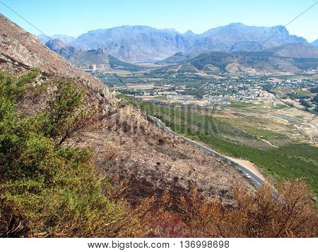 Franchhoek Valley, Cape Town South Africa 01