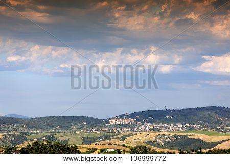 Crete Senesi, Siena, Tuscany, Italy