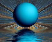 Surreal Globe Reflection