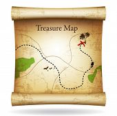 image of treasure map  - Treasure map - JPG