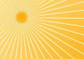 Постер, плакат: Летнее солнце