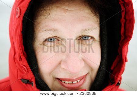 Positive Winter Portrait