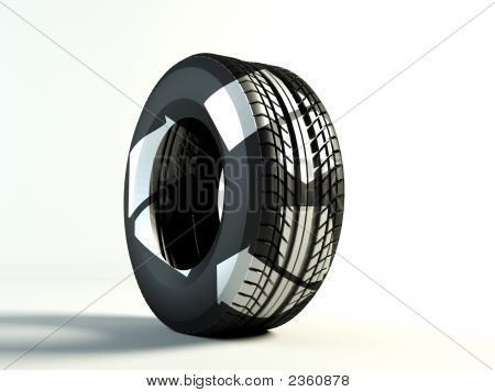 Recycling Tyre