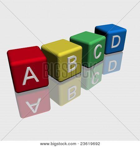 abcd cubes