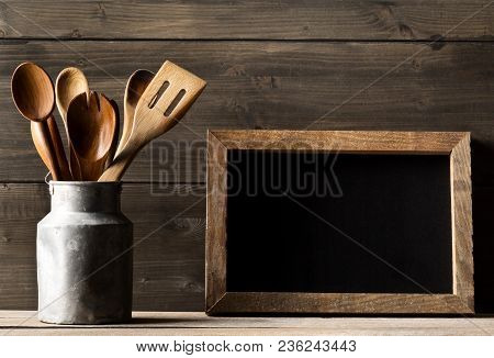 Wooden Kitchen Cooking Tools With
