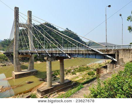 Dakrong Bridge - Quang Tri, Vietnam
