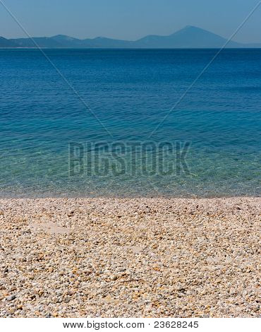 Mediterranean Beach Background