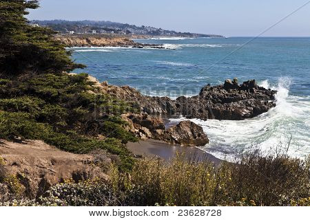Rugged Moonstone Beach